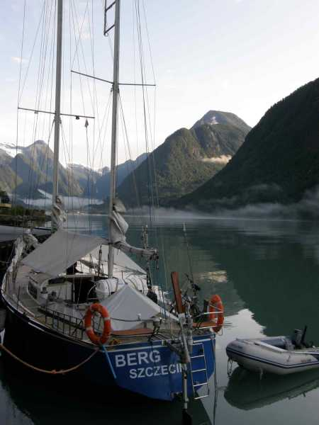 Berg w Sognefjord