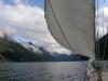 Berg-fiordy przed dziobem