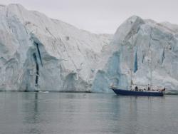 Tempelfjorden-czoło lodowca Tunabreen