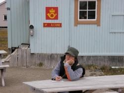 Poczta w Ny-Alesundzie