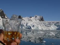 ...z lodem z lodowca